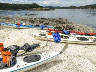 A rest break on Gossip Island.