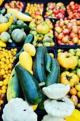Late summer produce on the farm.