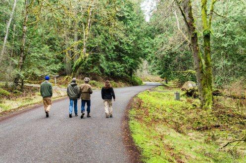 Walking Ben Nevis Loop with friends I've had since High School.