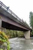 The road over the Elwha.